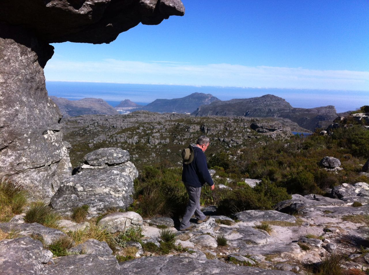 Circular walk, on Table Mountain