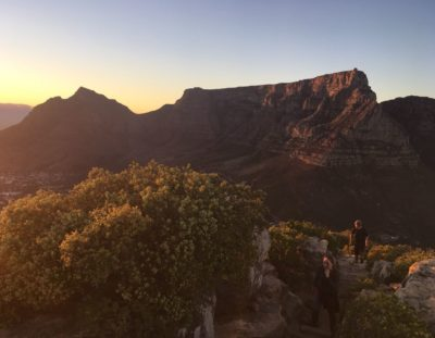 Lions Head looking towards Table Mountain