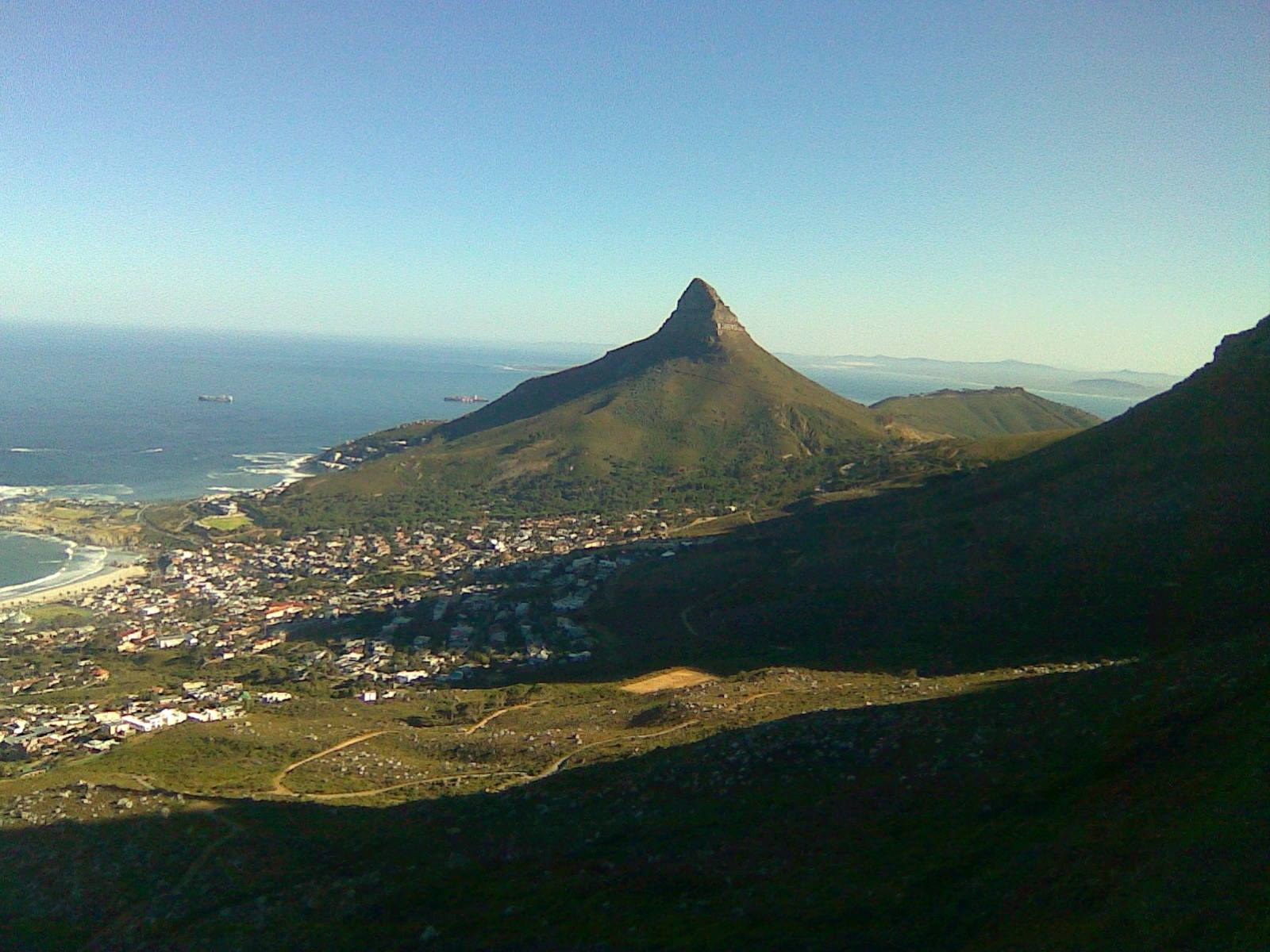 kasteelpoort, Looking towards Lions Head