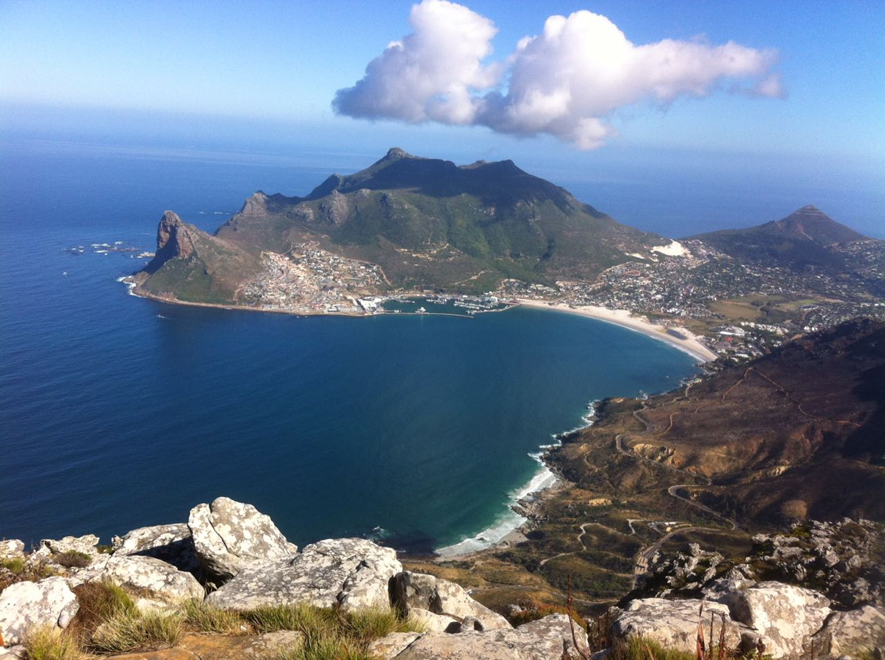 Silvermine, looking towards Hout Bay